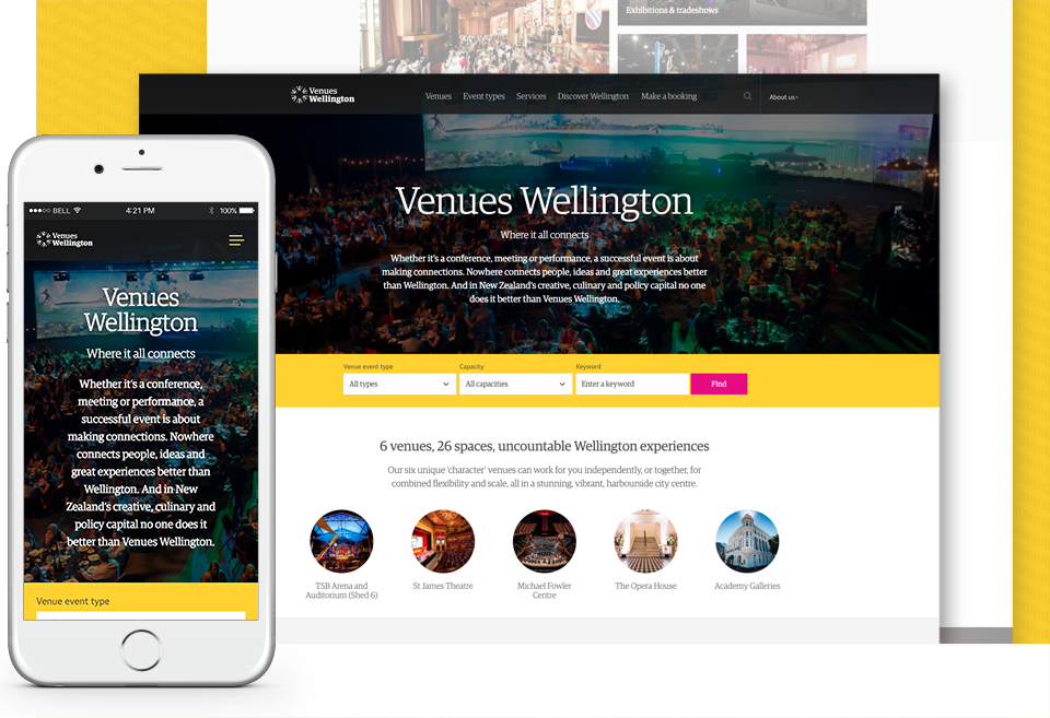 Venues Wellington Home
