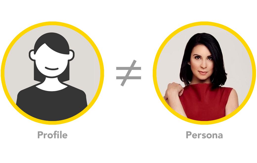Profile ≠ Persona