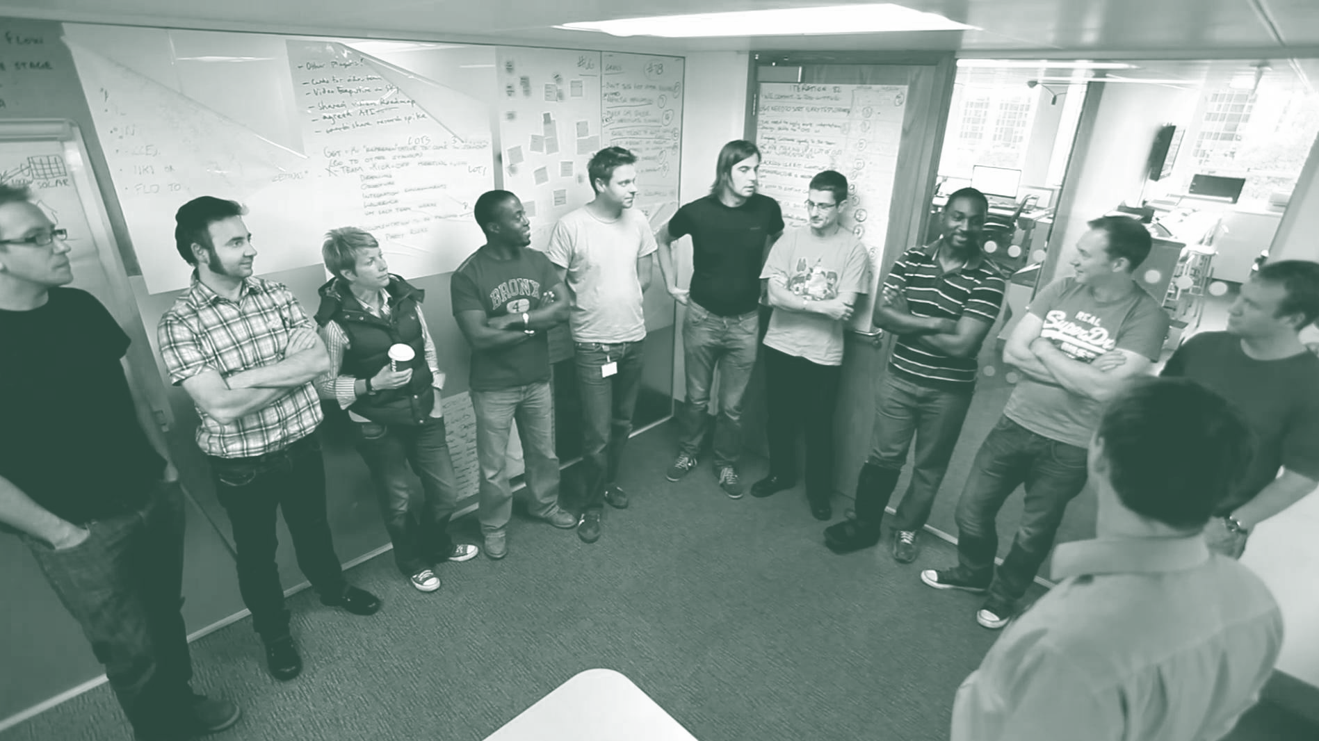 Daily scrum stand-up